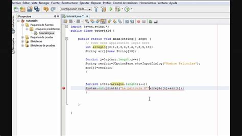 tutorial java using netbeans tutorial 4 parte 2 2 java netbeans www inquisidores net