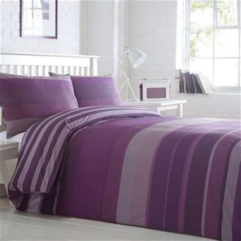 purple bedding sets uk home collection basics purple striped stanford striped