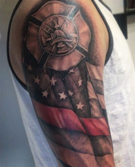 fire ems tattoo designs 709 best firefighter tattoos images on