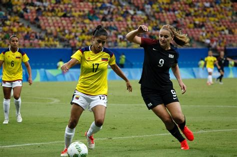 olympic football usa s football olympic winning streak halted by colombia