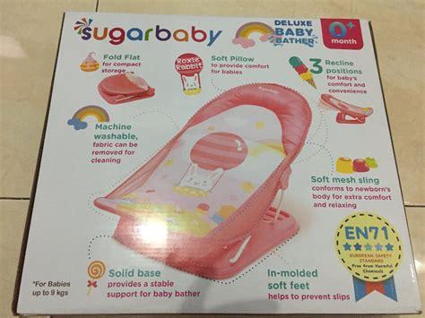 Termurah Deluxe Baby Bather Kursi Dudukan Alas Mandi jual beli sugarbaby deluxe baby bather baru jual
