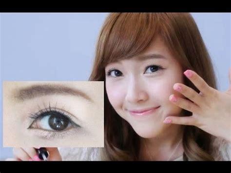 tutorial make up korea snsd simple makeup tutorial inspired by jessica snsd sylvia