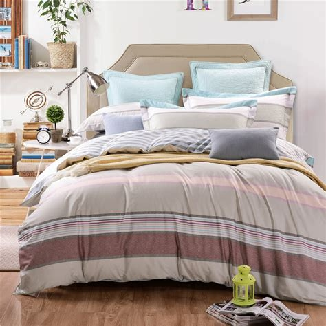 all cotton comforter all cotton bedding set 4pcs duvet cover set twin full