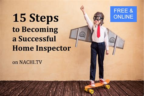 How To Become A Home Inspector by Classes Internachi School