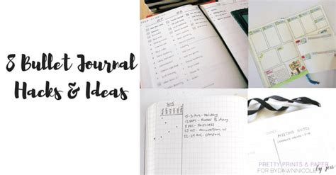 journal hacks 8 bullet journal hacks and ideas dawn nicole designs 174