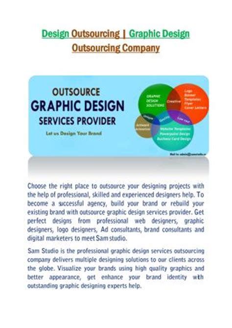 graphics design outsourcing companies ppt outsourcing of payroll powerpoint presentation id