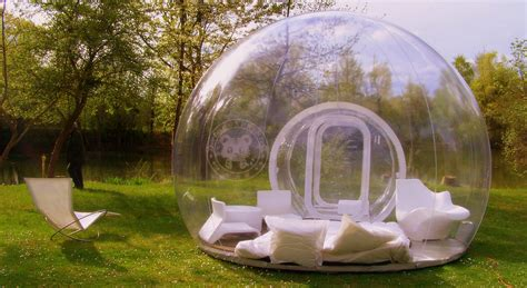 bubble tent sleep under the stars in this transparent bubble tent