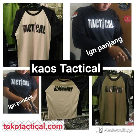 Tactical Shirt Lengan Pendek by Kaos Tactical Lengan Panjang Hitam Best Buy Indonesia