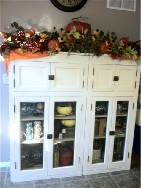 a wee meenit antique built in cabinets