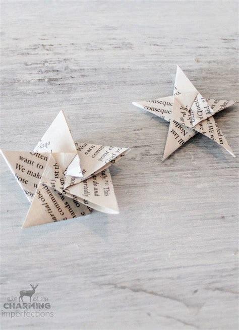 Easy Impressive Origami - diy origami ornaments f 246 r hemmet id 233 er
