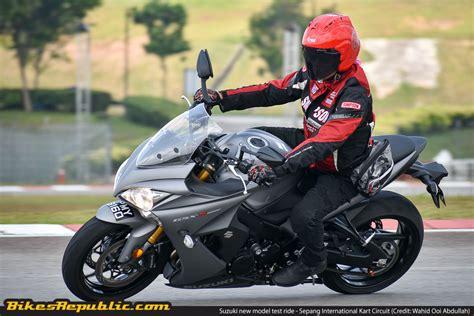suzuki riding suzuki new model test ride sepang international kart