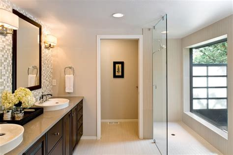 Walk In Closet And Bathroom by Master Bath Walk In Closet And Powder Room Remodel