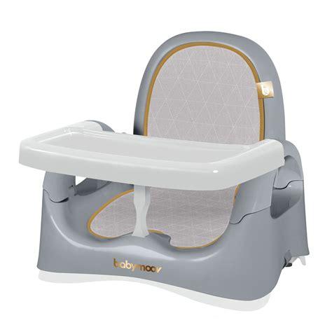 rehausseur de chaise babymoov r 233 hausseur de chaise compact smokey de babymoov
