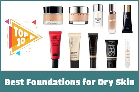 Top 10 Best Foundations for Dry Skin   Punica Makeup