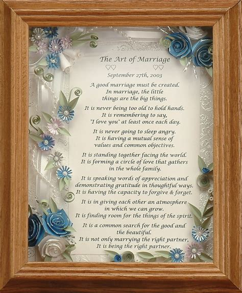 Framed Marriage Poems And Quotes. QuotesGram