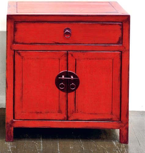red lacquer cabinet red lacquer side cabinet orient house