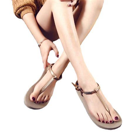 Fashion Sandal Import 1 ᗑfashion summer flat sandals sandals for bohemia っ sandals sandals black