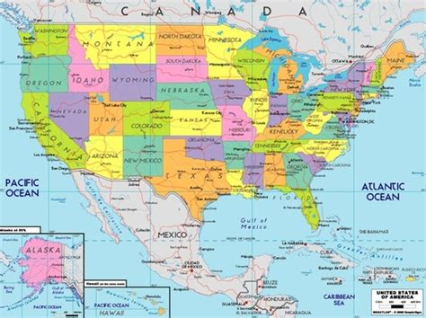 map of the united states and south america united states of america continent 6 america