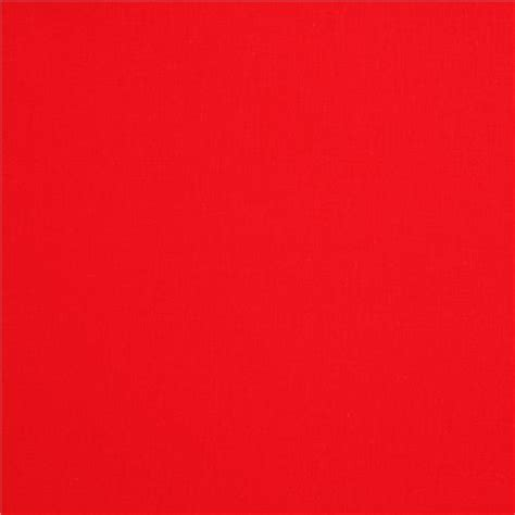 dsl light solid red solid red fabric robert kaufman usa red kawaii fabric shop