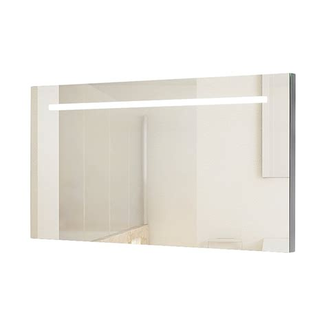 wide bathroom mirrors wide and illuminated bathroom mirror with backlit effect