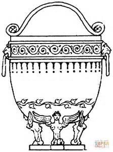 vaso grego desenho vaso grego desenho