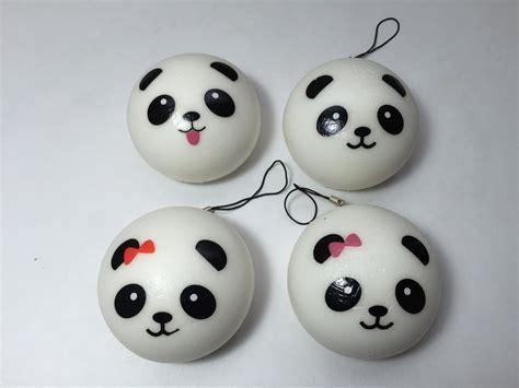 Japanese Gift by Super Kawaii Medium Panda Buns Squishies