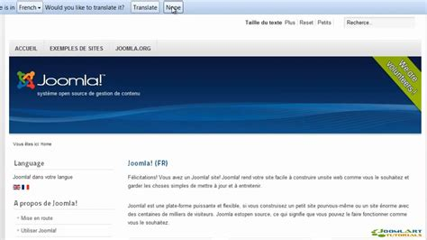 joomla online tutorial youtube joomla 2 5 tutorial languages youtube