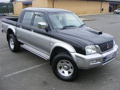2002 mitsubishi l200 partsopen used black mitsubishi l200 2003 diesel double cab td