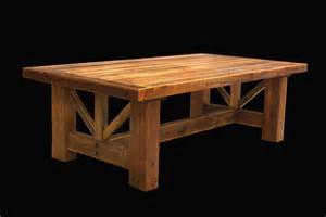 Kitchen Tables Rustic Wood - country trestle table western rustic wood log cabin