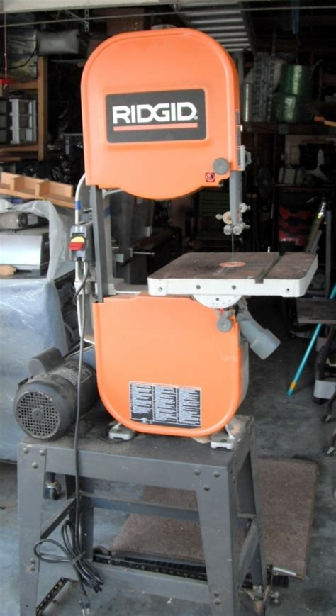 ridgid 14 in bandsaw r474 the home depot band saw table height woodworking projects plans