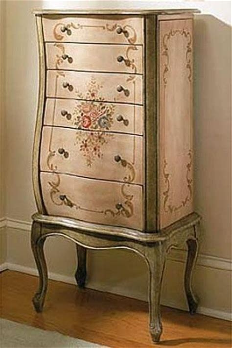 french jewelry armoire french garden jewelry armoire powell s has romantic 18th century country look hand