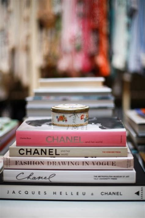 fashion and interior design books on a coffee table