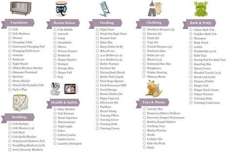 bathroom essentials checklist printable baby checklist click here for a printable baby