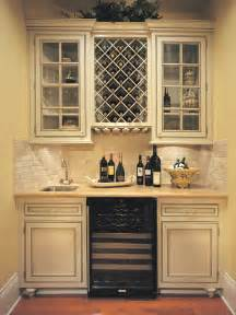 Kitchen Wine Cabinet Creek Cornerstone Falmouth Inset In Maple Painted Creme Brule Traditional Wine