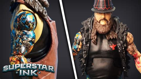 bray wyatt tattoos the tattoos of quot the new of fear quot bray wyatt