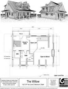 Cabin Floor Plans With Loft Woodwork Cabin Plan Loft Pdf Plans