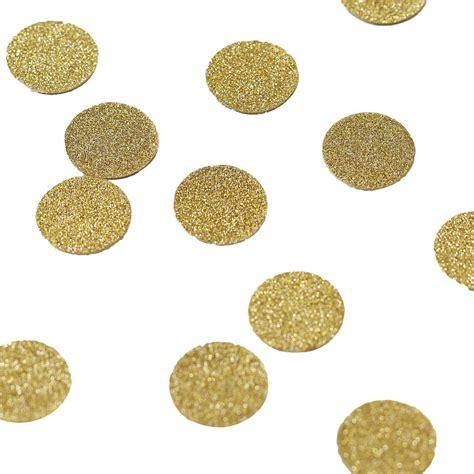 gold 50 table confetti gold glitter table confetti by