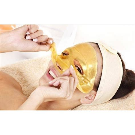 Aqua Collagen Gold Mask 24k gold active mask 10pieces to brightening spa
