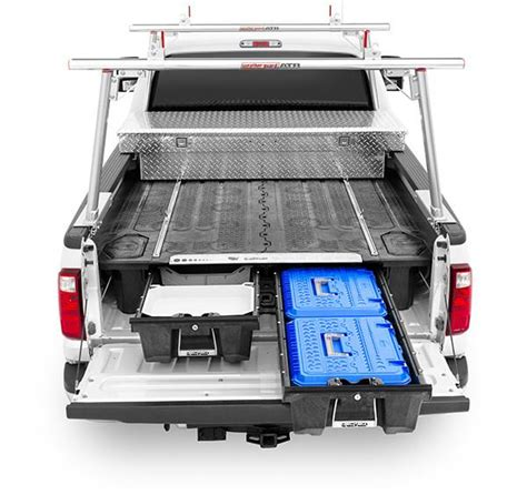 truck bed storage systems decked 174 pickup truck bed tool boxes and bed organizer decked