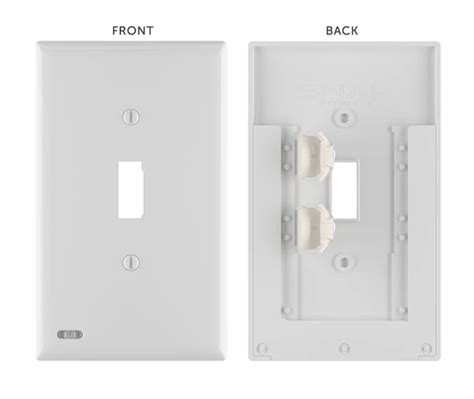 night light switch plate review snappower switchlight night light switch cover