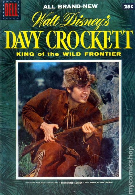 in the of the frontier volume 1 books dell davy crockett king of the frontier 1955