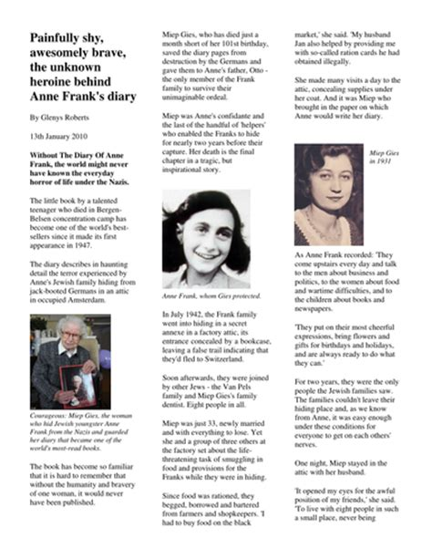 anne frank biography ks2 planning anne frank non fiction biography autobiography by