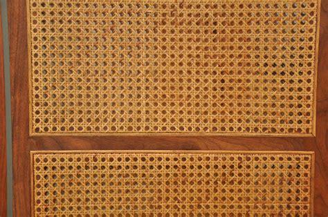 Rattan Room Divider Vintage Caned Rattan Room Divider Screen At 1stdibs
