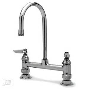 t s brass commercial kitchen faucets t s brass b 0320 8 quot center deck mounted faucet
