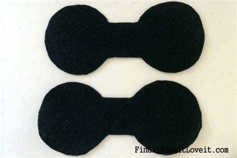 How To Make Mickey Mouse Ears With Construction Paper - diy mickey or minnie mouse ears find it make it it