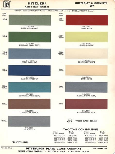 1959 chevrolet colors what color was your chevrolet apache 3100 truck when it was new