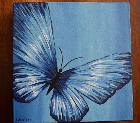 butterfly painting ideas  pinterest