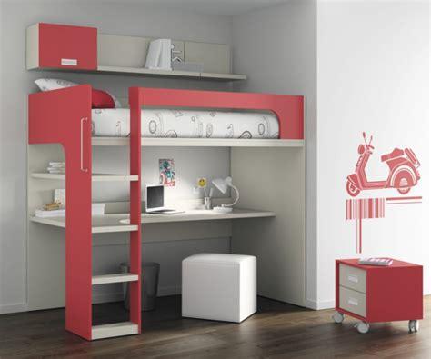 Le Lit Mezzanine Avec Bureau Est L Ameublement Cr 233 Atif Lit Mezzanine Avec Bureau