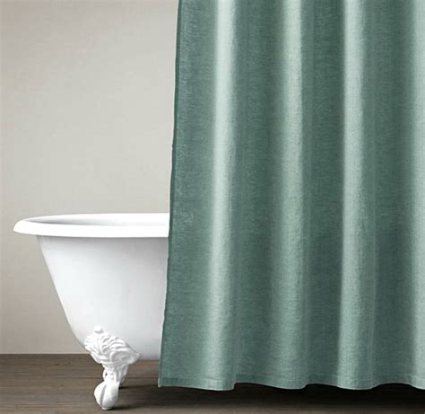 Linen Shower Curtains Refreshing Shower Curtain Designs For The Modern Bath