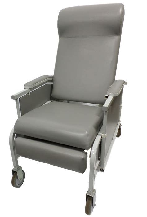 Geri Chair Recliner by Winco Drop Arm Convalescent Transfer Recliner Model 527